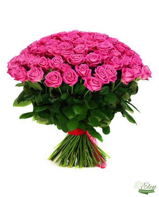 101 Роза - Цветочная мастерская Элен, доставка цветов Киев.