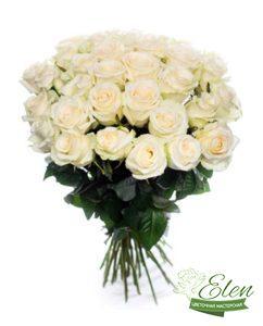 51 Белая Роза - Цветочная мастерская Элен