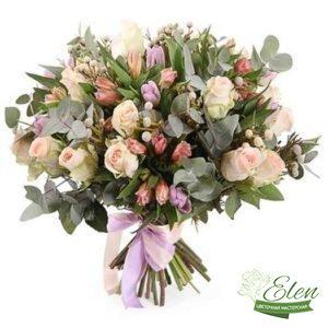 Букет из роз Жемчужины Любви