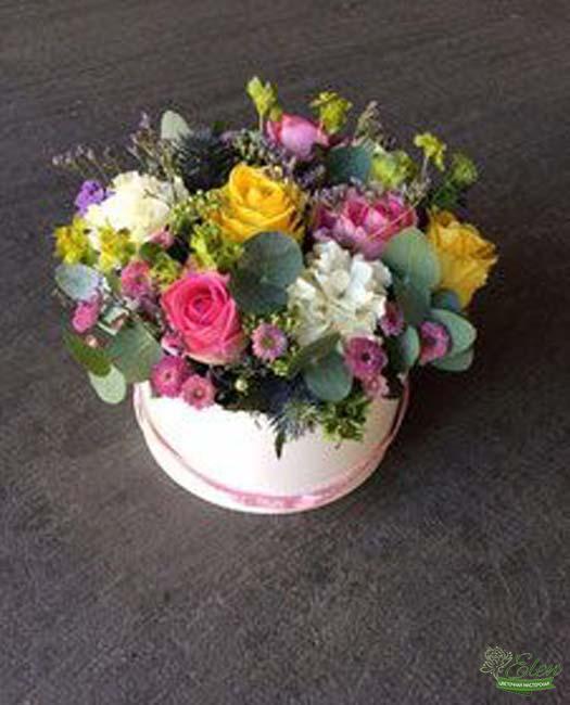Коробка с цветами Карнавал