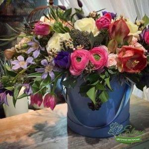 Коробка с цветами Превосходство