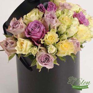 Коробка цветов Золотые Огоньки