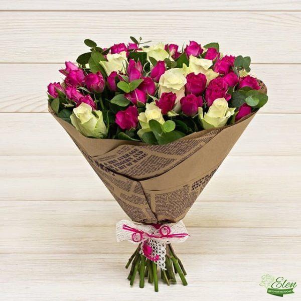 Микс из цветов Сладкое Ассорти