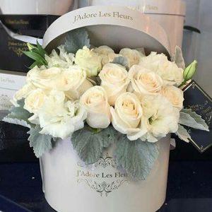 Коробка цветов Светлый День