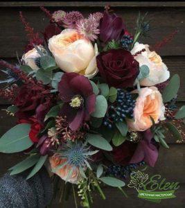 Букет из роз Гармония - букет для мужчины