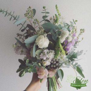 Коробка с цветами Элегантность