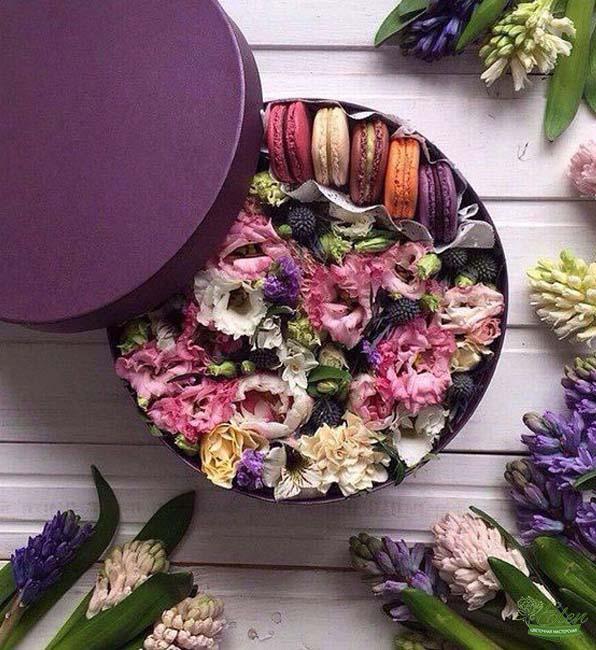 Коробка с цветами Мечта