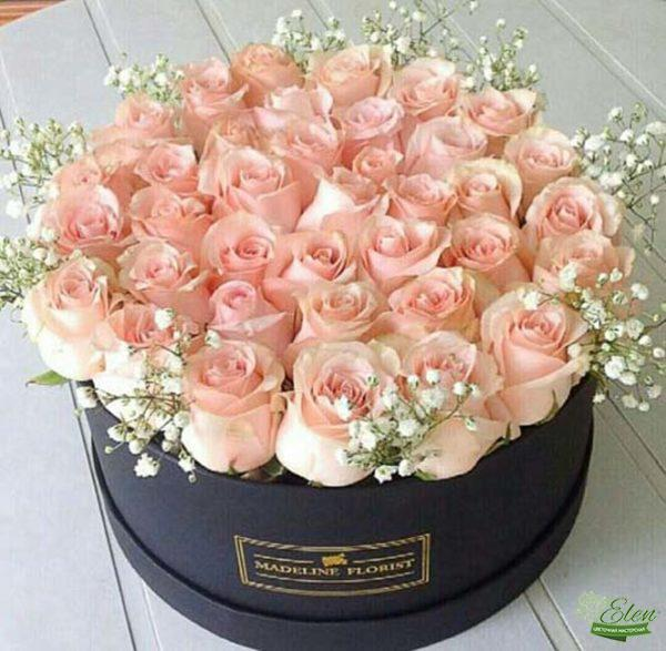 Коробка с цветами Восторг