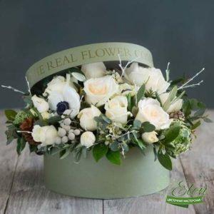 Коробка цветов Елегантность