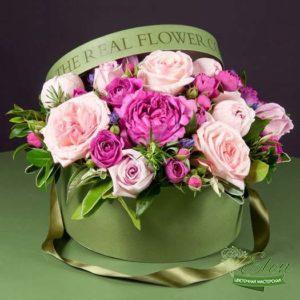 Коробка цветов Летняя Поляна