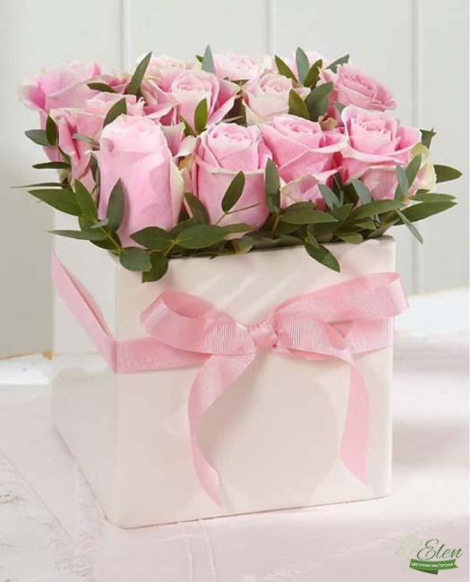Коробка цветов Нежность