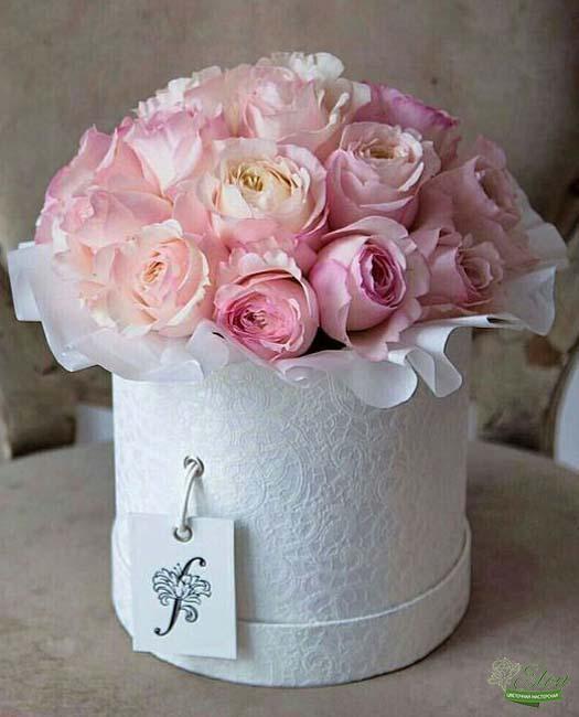 Коробка цветов Садовый Аромат