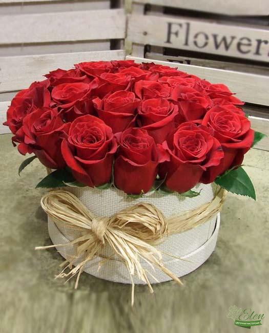 Коробка цветов Страсть