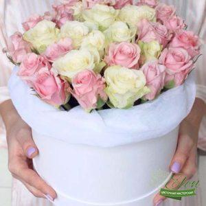Коробка цветов Светлая Мечта