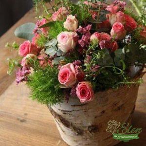 "Корзина цветов ""Дарю"""