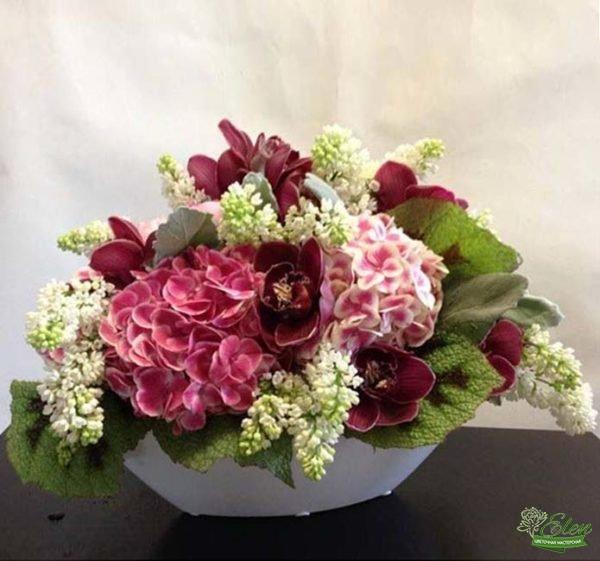 Корзина цветов Королевская