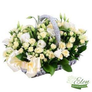 "Корзина цветов ""Моей Родной"""