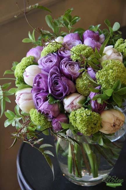 """Корзина цветов """"Нежность"""""""