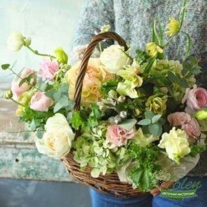 "Корзина цветов ""Свежесть"""