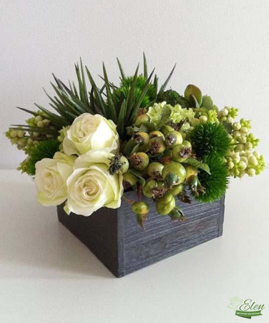 Букет Белоснежный - цветы для мужчины