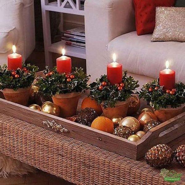 Букет Романтика Зимы