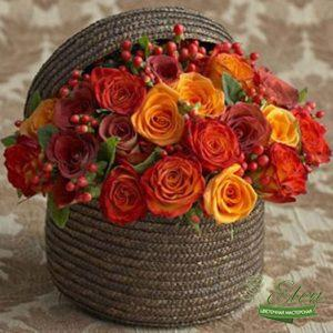 Коробка с цветами Совершенство