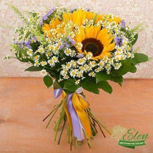 Коробка с цветами Валенсия
