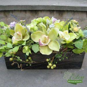 Коробка с цветами Весна
