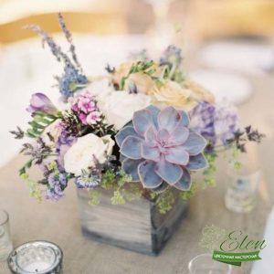 Коробка с цветами Летний