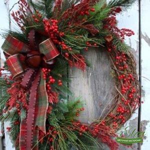 Веночек Праздничный - Цветочная мастерская Элен