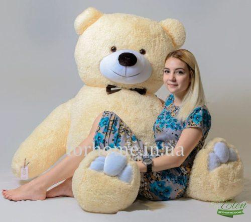Мягкая игрушка с цветами и доставкой в Киеве