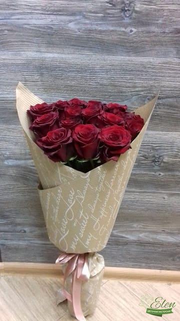 Киев Букет из 15 красных роз