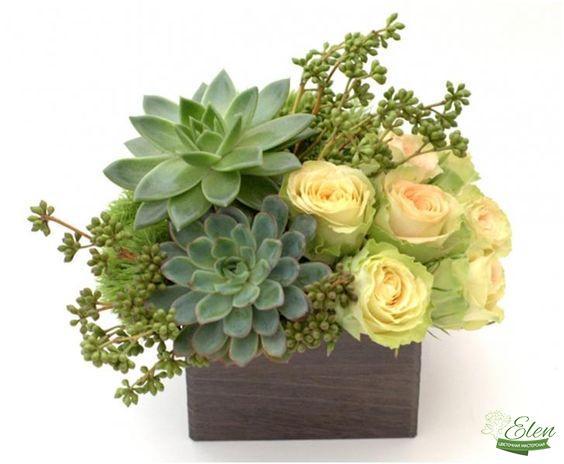 Цветочная композиция Экзотика - будет отличным подарком для ценителей экзотических цветов.