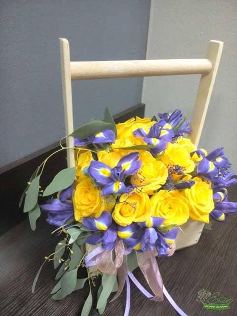 Букет с желтыми розами с доставкой Киев