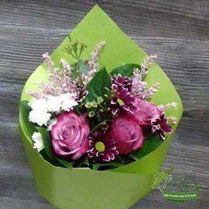 Этот букет яркая экзотика от цветочной мастерской Elen порадует получателя яркими эмоциями.