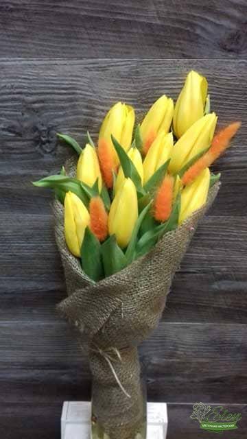 Киев Букет из 11 желтых тюльпанов