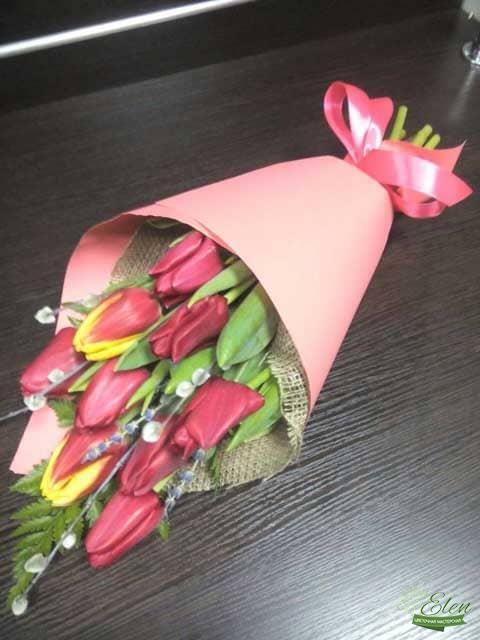 Киев Букет из 9 тюльпанов