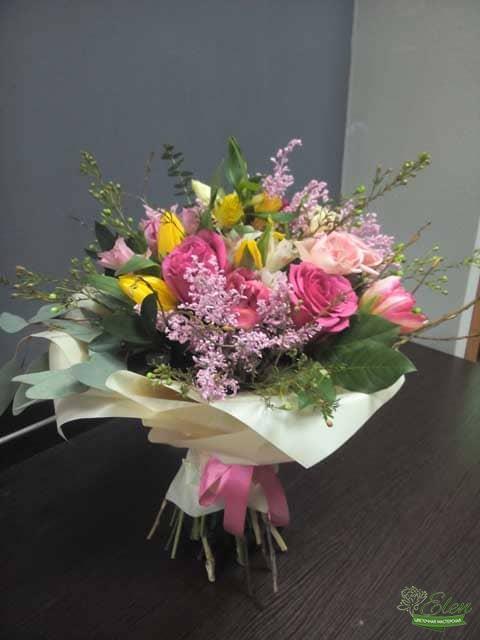 Киев Букет цветов Влюбленность