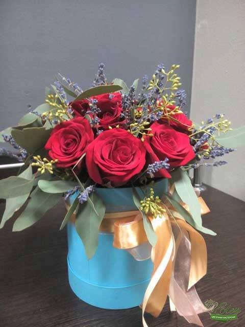 Коробка из голландских роз Киев