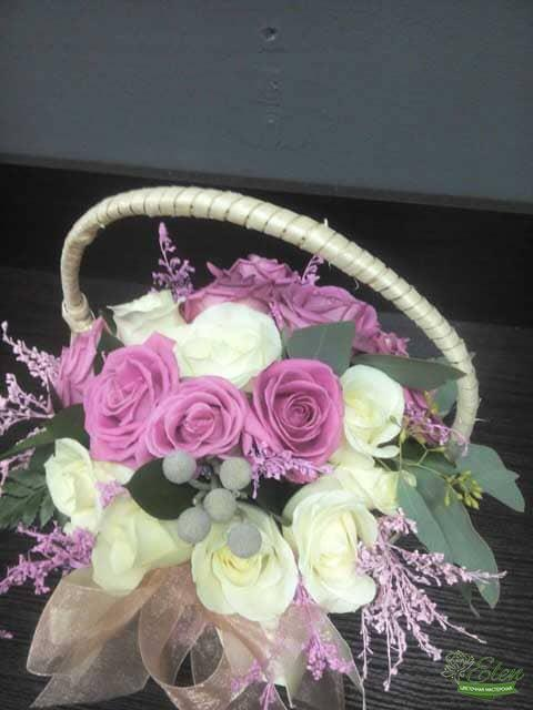 Розовые розы с доставкой