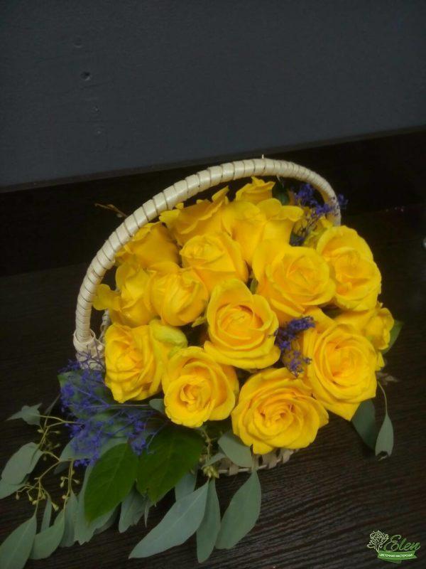 Розы желтые с доставкой Киев