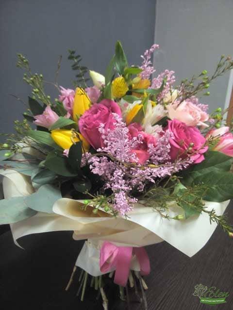 Влюбленность Букет цветов