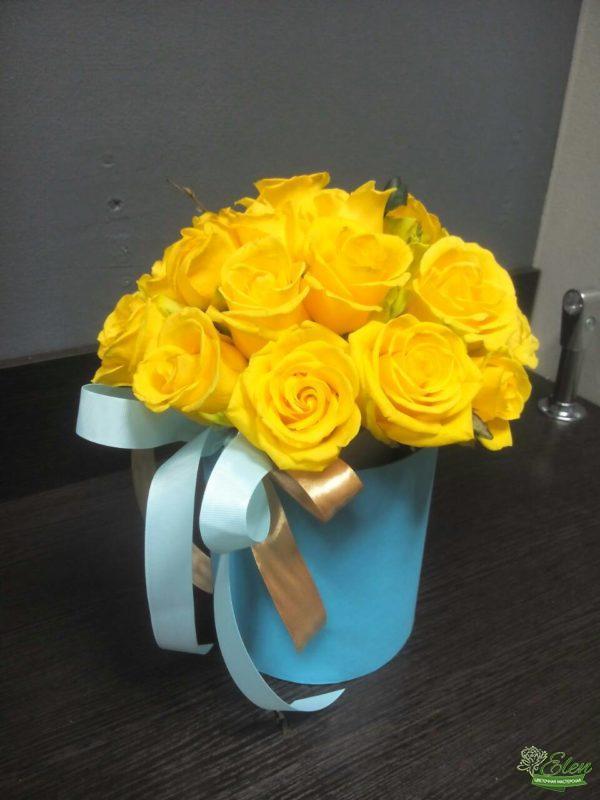 Желтые розы с доставкой Киев