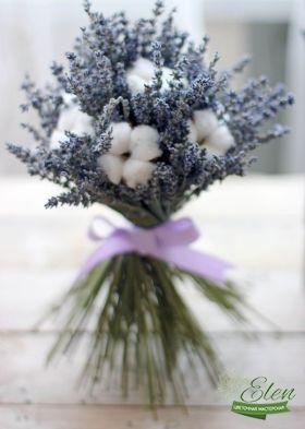 Букет из сухоцветов Малюткабудет прекрасным декором на вашем столе.