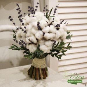 Букет из сухоцветов Облакоотличный весенний комплимент от наших флористов.