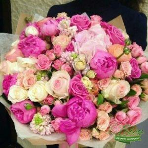 Букет Пионы и Розы с доставкой Киев