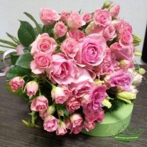 Букет из роз Розовый Микс отличный весенний комплимент от наших флористов.