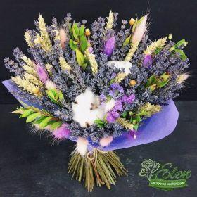 Букет цветов Лавандапринесет весеннее настроение на ваш праздник.