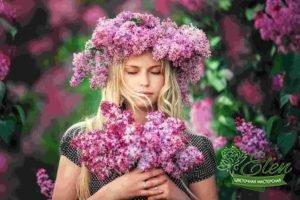 Выбор свадебного букета в цветочной мастерской Элен