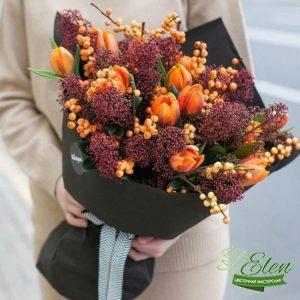Букет из тюльпанов с доставкой